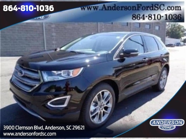 Ford Edge Titanium In Huntersville Nc Huntersville Ford